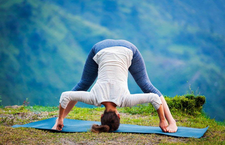 Prasarita-Padottanasana-yoga-weight-loss