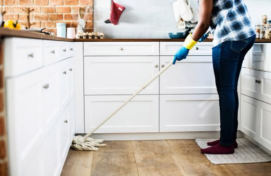indoor activity cleaning exercise