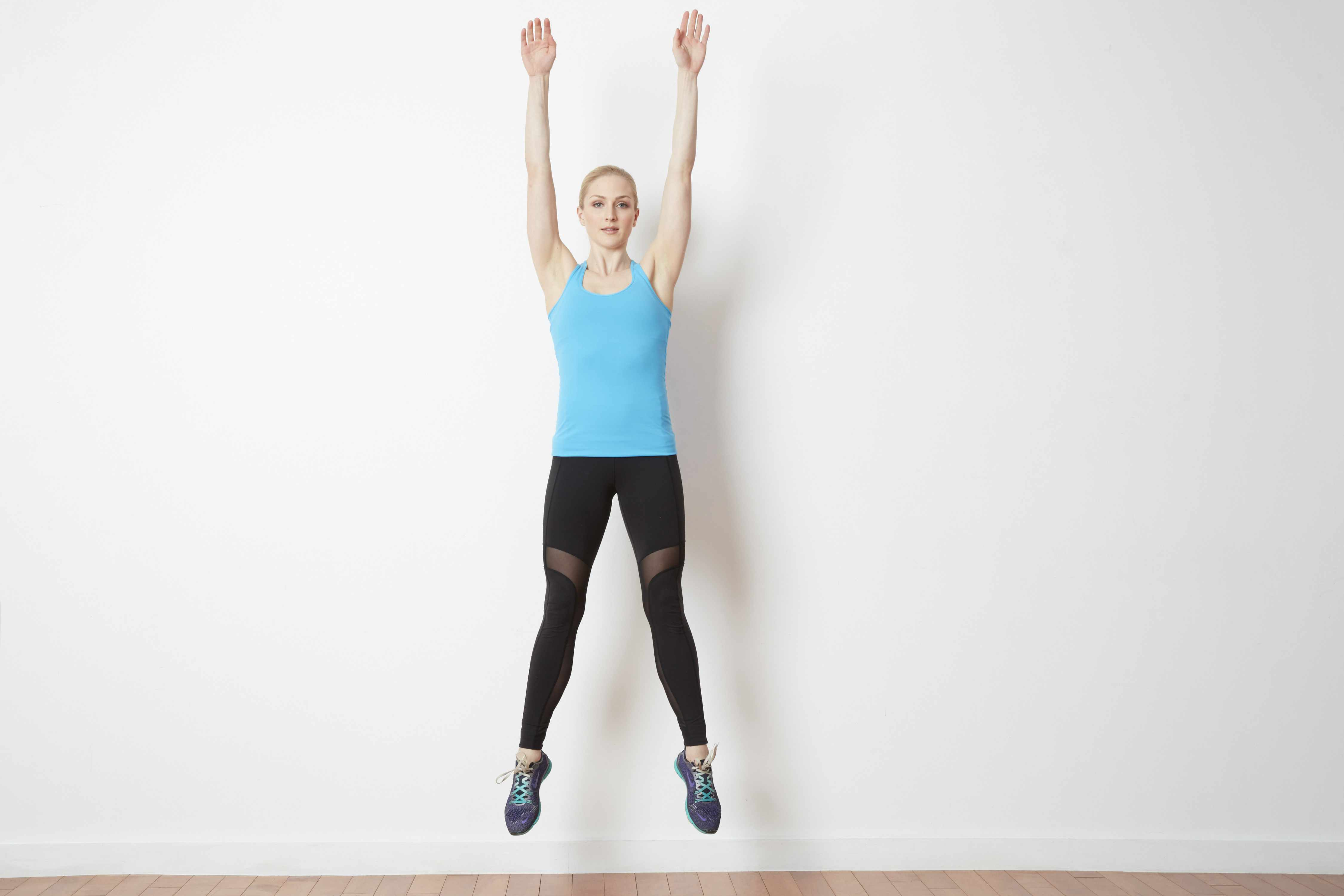 front jump exercise at home workout