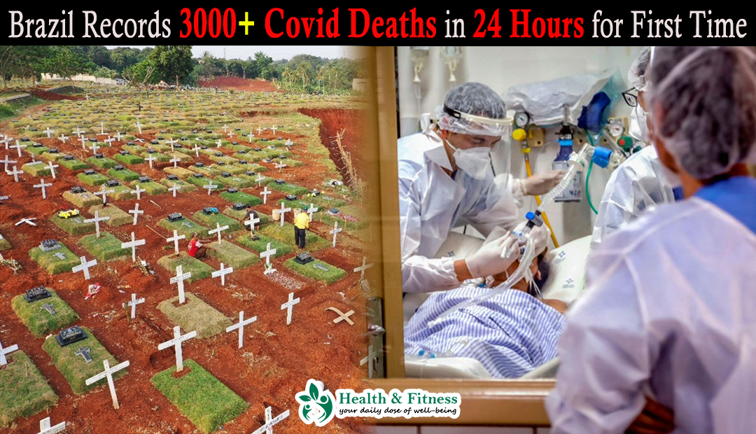 Brazil Records 3000+ Covid Deaths in 24 Hours