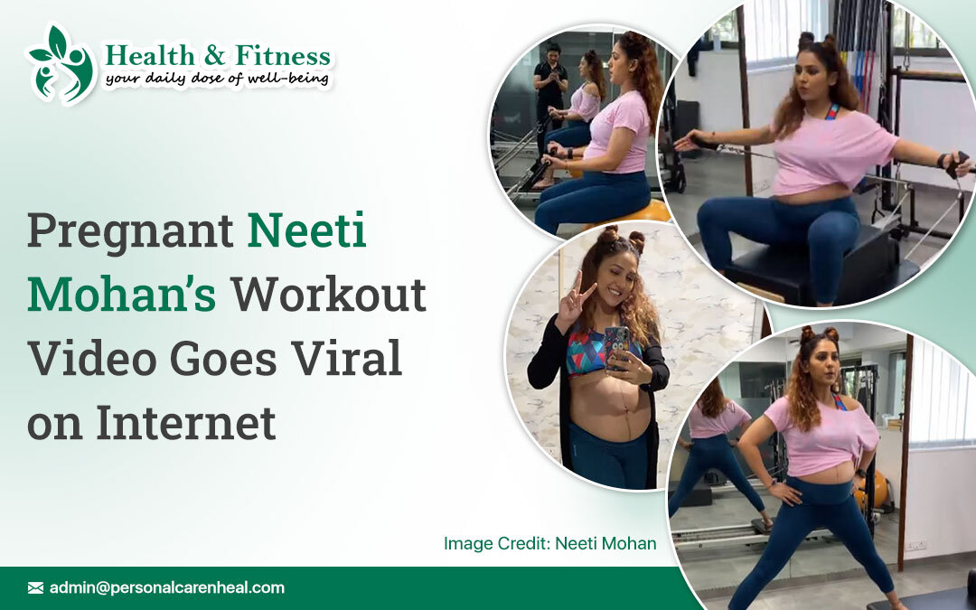 Pregnant Neeti Mohan's Workout Video Goes Viral
