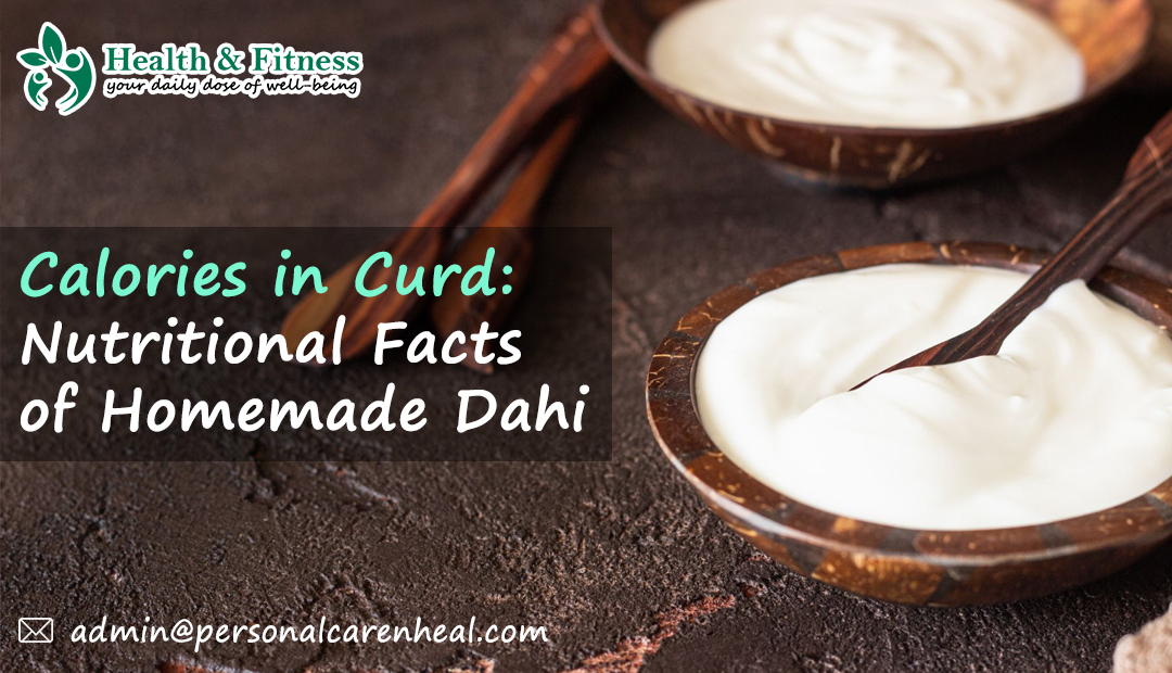Calories in one bowl of curd